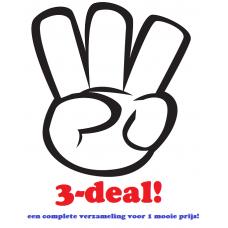 Album-deal: alle 3 in 1 keer!